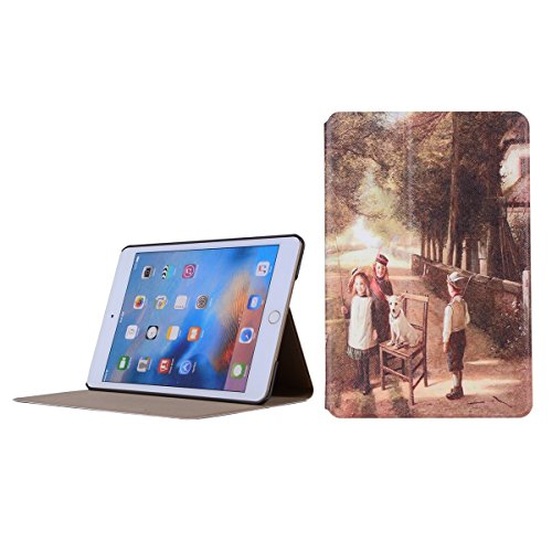 inShang 9.7 inch iPad (2017) Fundas soporte y carcasa para Apple 9.7 inch iPad (2017) , smart cover PU Funda ,art style harmonious
