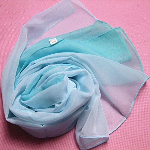 de mujer las gasa bufanda bufandas Ligero de Protecci la del la de Suave Adeshop chal Elegante xf1IEE