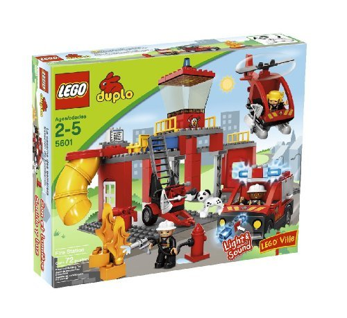 LEGO Duplo Legoville Fire Station (5601) by LEGO
