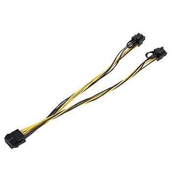 ASHATA Nuevo SATA Cable Adaptador de alimentación de Tarjeta ...