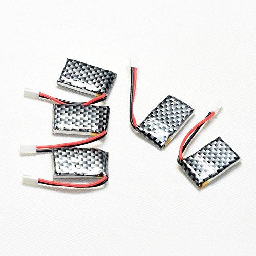 ECHOBBY 3.7V 200mAh 20C LiPO Battery Walkera Plug for RC micro aircraft Lipolymer power by ECHOBBY (Image #1)