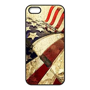 British flag iPhone 5 5s Cell Phone Case Black AMS0726387