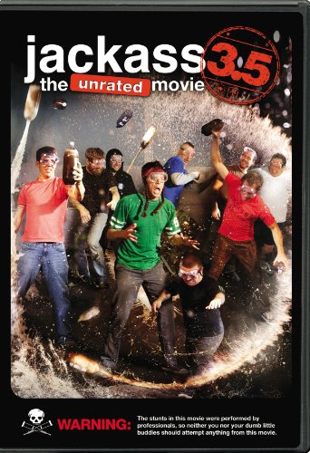 Jackass 3.5: The Unrated - Jackass The Movie Dvd