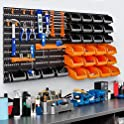 44-Piece Best Choice Products Wall Mounted Storage Organizer