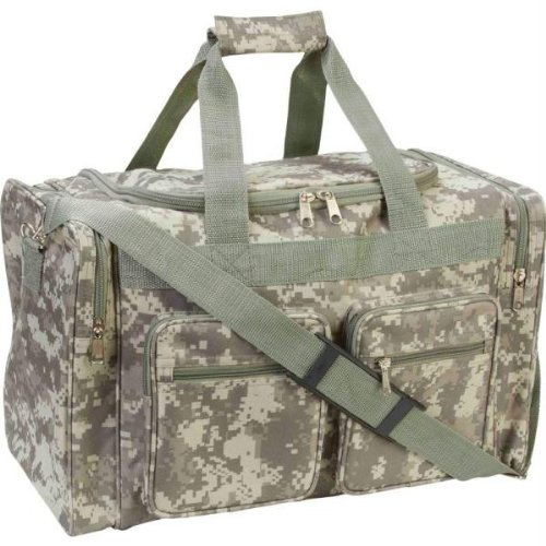 Extreme Pak Digital Camo Water-Resistant 19'' Tote Bag by B&F