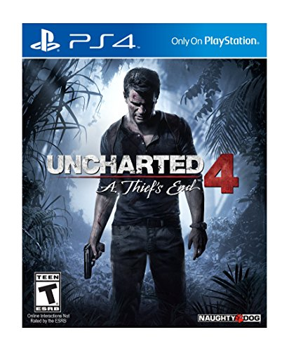 Uncharted 4: A Thief's End on PS4