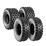 Set of 4 Sport ATV Tires 22x7-10 Front & 20x10-9 Rear /4PR - 10077/10081