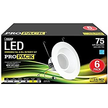 Feit Ledr56 3k Led 5 Inch To 6 Inch Dimmable Retrofit
