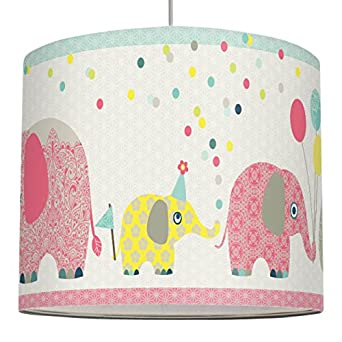 Anna Wand Lampenschirm Family Elephant Schirm Fur Kinder Baby Lampe Mit Elefanten In Versch Farben Sanftes Licht Fur Tisch Steh Hangelampe
