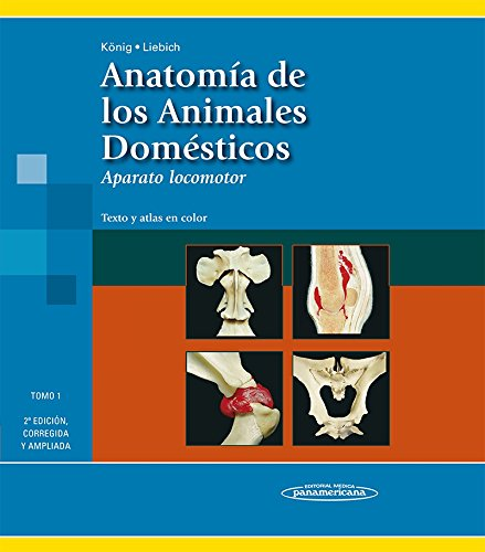 Anatomia de los animales domesticos / Anatomy of Domestic Animals: 1; 2