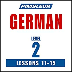 German Level 2 Lessons 11-15