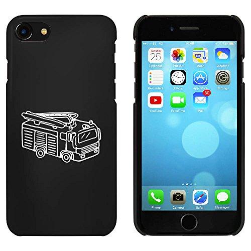 Noir 'Camion de Pompier' étui / housse pour iPhone 7 (MC00084144)