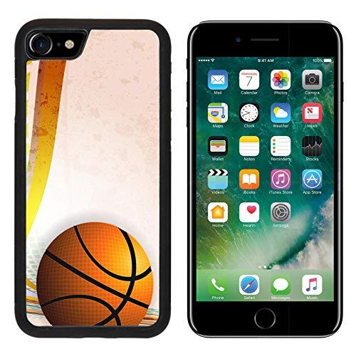 Liili Premium Apple iPhone 8 Aluminum Backplate Bumper Snap Case Basketball Advertising Poster Vector Illustration Image ID - Poster Advertising Original