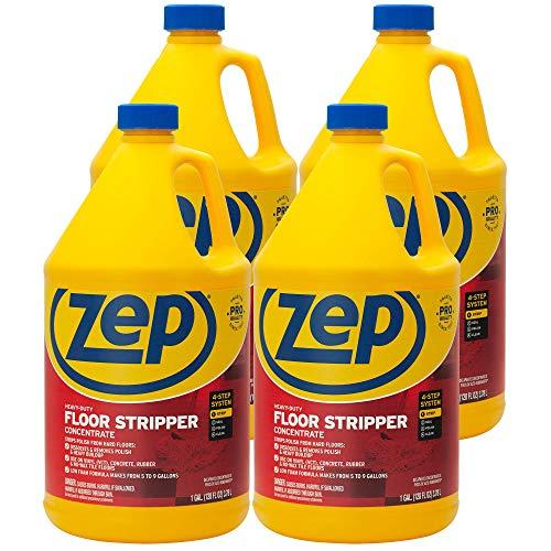 (Zep Heavy-Duty Floor Stripper 128 ounce ZULFFS128 (Case of 4))