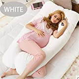 13070CM U Pregnancy Comfortable Pillows Maternity Belt Body Character Pregnancy Pillow Pregnant Side Sleepers white