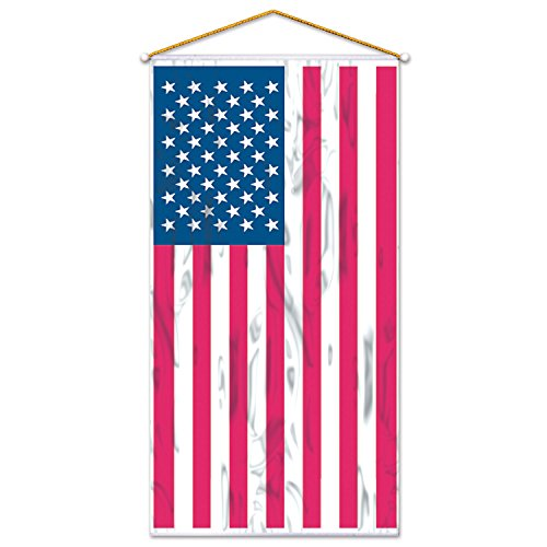 Beistle 50329 American Flag Door/Wall Panel, 30