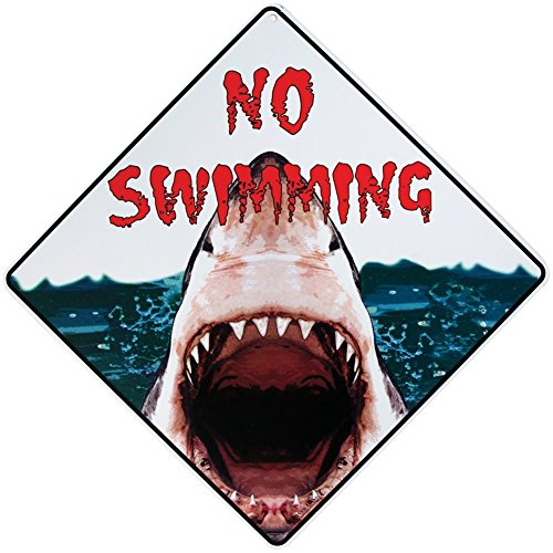 No Swimming Shark 12