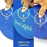 Yes4All 18 Inch EVA Foam Roller/Back Roller