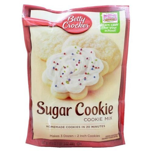 Betty Cookie Mix Sugar Cookie 17.5 OZ (Pack of 24)
