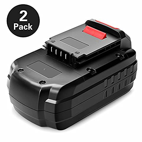 Ofpow 2 Pack 18V 3000mAh NiCd Replacement Battery for Porter Cable PC18B, PCC489N, PCMVC, PCXMVC, 18 Volt Battery Pack for Porter-Cable 18Volt Power Tools