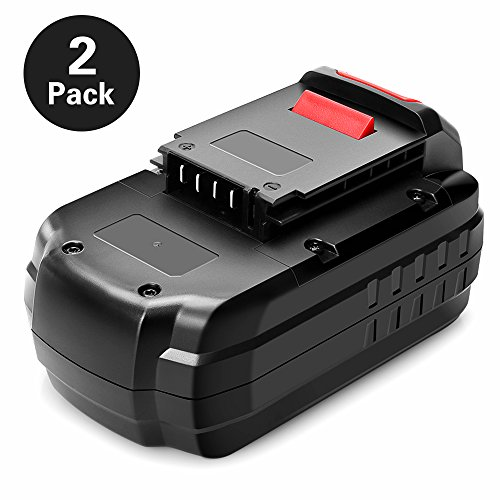 Big Save! Ofpow 2 Pack 18V 3000mAh NiCd Replacement Battery for Porter Cable PC18B, PCC489N, PCMVC, ...