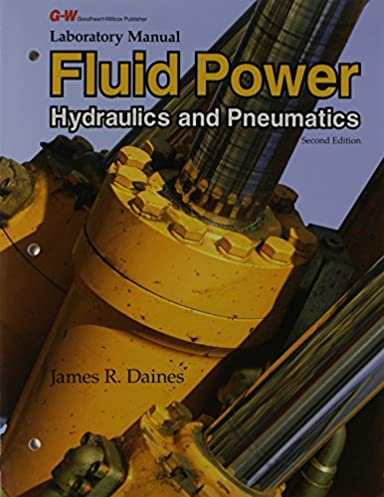 laboratory manual for fluid power hydraulics and pneumatics james rh amazon com vtu hydraulics lab manual hydraulics lab manual with readings