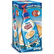 Nestle Coffee mate Coffee Creamer, French Vanilla, Liquid Pump Bottle, 50.7 Ounces
