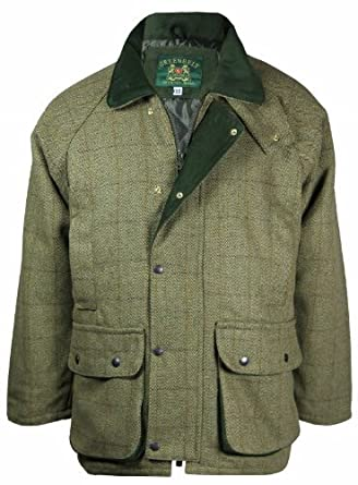 Country Wear New Mens Derby Wool Branded British Made Quilted
