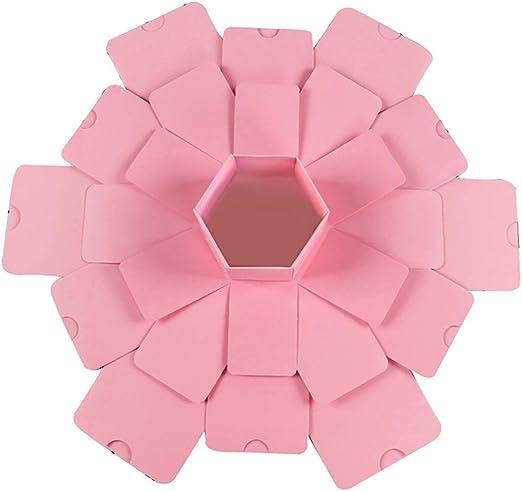 FBGood - Caja de Regalo para álbum de Fotos, diseño Hexagonal ...
