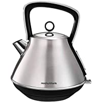 Morphy Richards Evoke Pyramid Kettle Evoke Pyramid Kettle, Brushed Stainless Steel, 100106