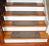 deans flooring - Dean Ultra Premium Stair Gripper Non-Slip Tape Free Pet Friendly DIY Satin Soft Nylon Carpet Stair Treads/Rugs 30