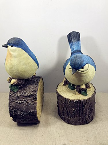 Resin Piggy Bank Home Decor Gift Coin Bank Bird And Wood Home Decor by lianxi industrial and trade