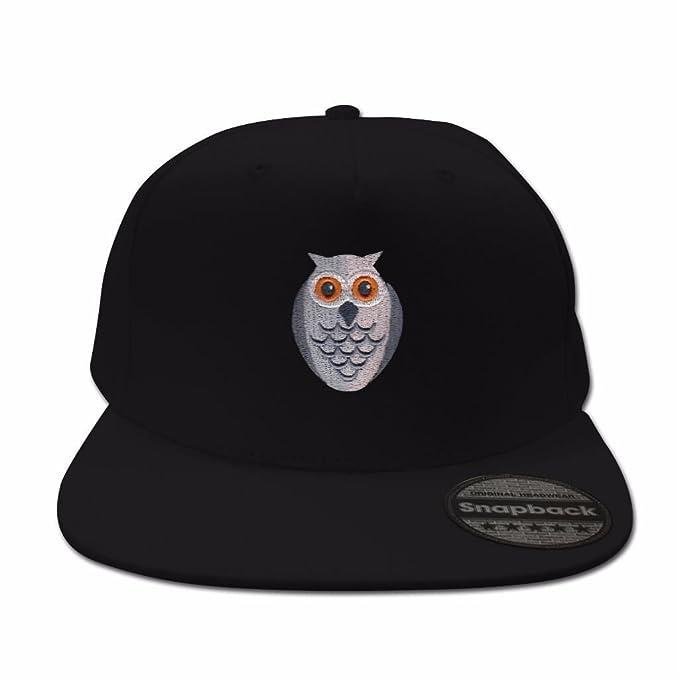aeffe97eb6a Amazon.com  Owl Black Snapback  Clothing
