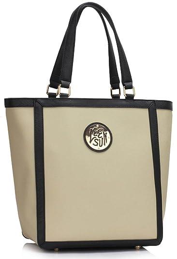 b2c1c2b67d8c Womens Handbags Sale Ladies Shoulder Bags Faux Leather Designer Large Tote  New