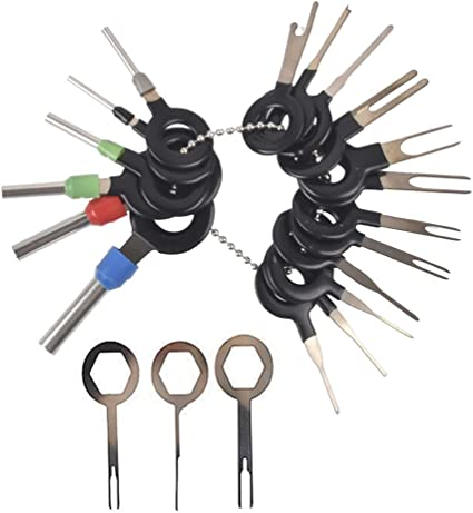 1Set Car Wire Terminal Maintenance Repair Tools Dismounting Removal Extractor
