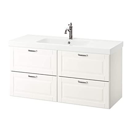 outlet store af57b 1fc86 Amazon.com: IKEA Godmorgon/Odensvik Sink Cabinet with 4 ...