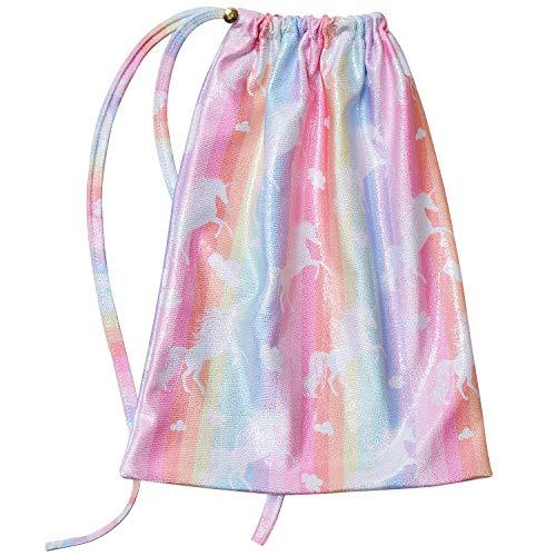 Girls Gymnastics Grip Bag Sparkle Unicorn Accessory ()