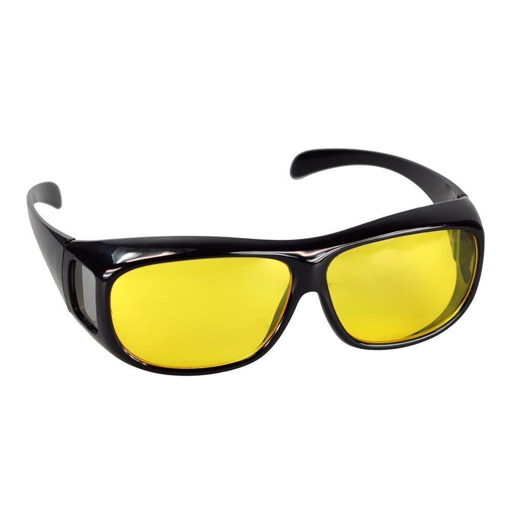Infactory - Gafas de contraste para visión nocturna (aptas para personas con gafas)