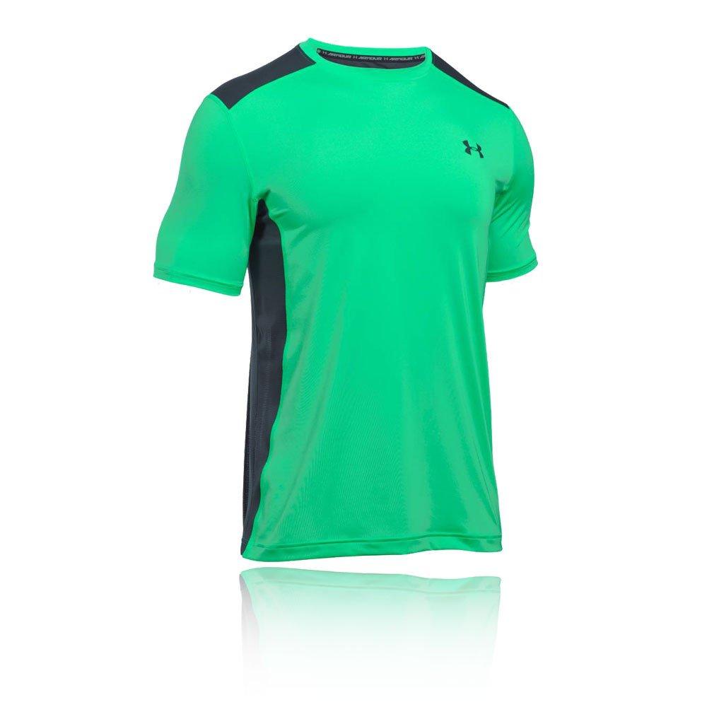 (アンダーアーマー) UNDER ARMOUR ヒットヒートギアSS(トレーニング/Tシャツ/MEN)[1257466] B01MRSYU6E Medium|Vapor Green/ Stealth Gray Vapor Green/ Stealth Gray Medium