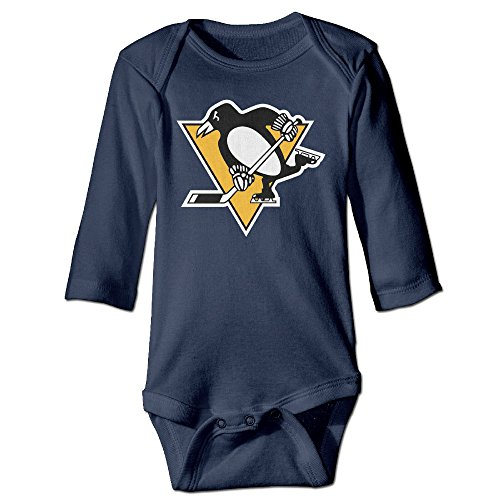 Pittsburgh Penguins Pittsburgh Baby Onesie Bodysuit Toddler Clothes Longsleeve