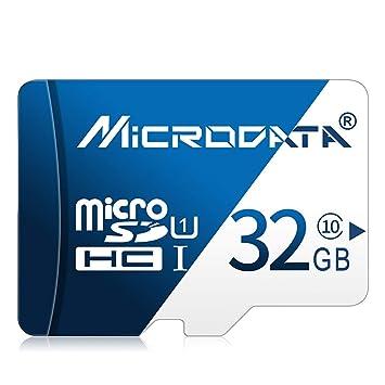 Tarjeta de Memoria - Tarjeta TF (Micro-SD) de 32 GB con Adaptador ...