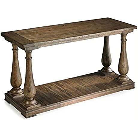 Beaumont Lane Wood Console Table In Natural Pine