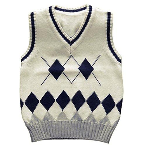 Knit Boys Vest - 6