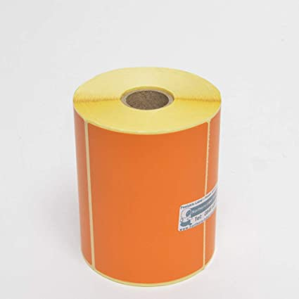 500 102mm x 76mm GREEN Direct Thermal Printer Labels Zebra Honeywell Godex