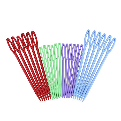 eBoot Colorful Plastic Sewing Needles