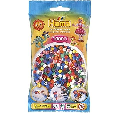 HAMA 207-00 - Bolas de Colores sólidos, 1000: Amazon.es: Juguetes y juegos