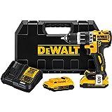 """DEWALT DCD796D2 20V MAX XR Li-Ion 0.5"""" 2.0Ah Compact Hammer Drill Kit"""
