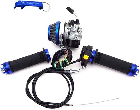 Carburetor Throttle Cable Handle Grip 80cc 2-Srtoke Motorized Bicycle Bike