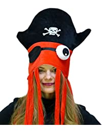 Cool Pirate Squid Hat by Funny Party hats®