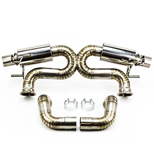 Rev9(CB-301-TI) Cat-Back Exhaust, Titanium, 3 Inch, Audi R8 5.2L V10 2009-12(13-15 Models Requires Hanger Modification)
